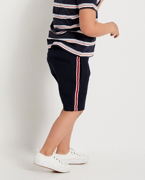 Shorts - plum - Donkerblauwe short 2-7 jaar