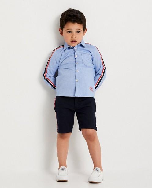 Chemise bleu clair, 2-7 ans - look denim - JBC