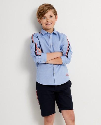 Lichtblauw hemd 7-14 jaar