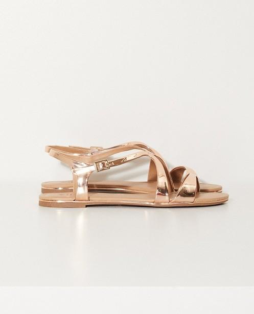 Sandales véganes au look métallisé - En rose - Call it Spring