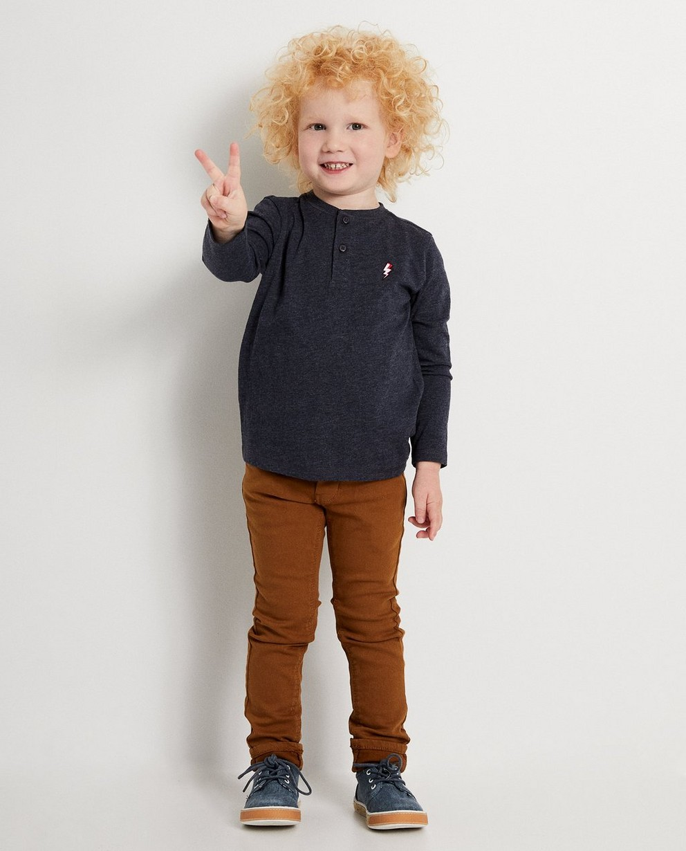 Skinny bleu marine JOEY, 2-7 ans - différents coloris - JBC