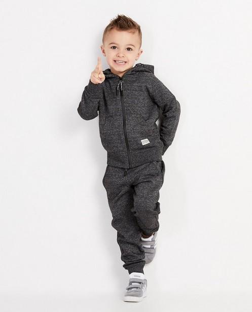 Pantalon de jogging bleu, 2-7 ans - chiné - JBC