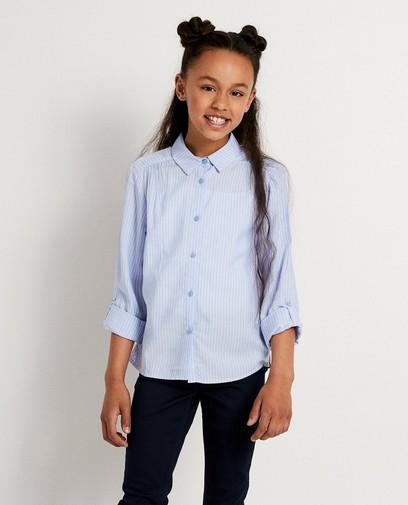 Blauw hemdje met strepen BESTies