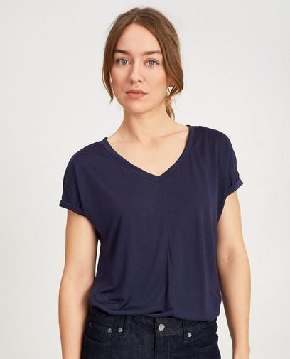 Donkerblauw T-shirt
