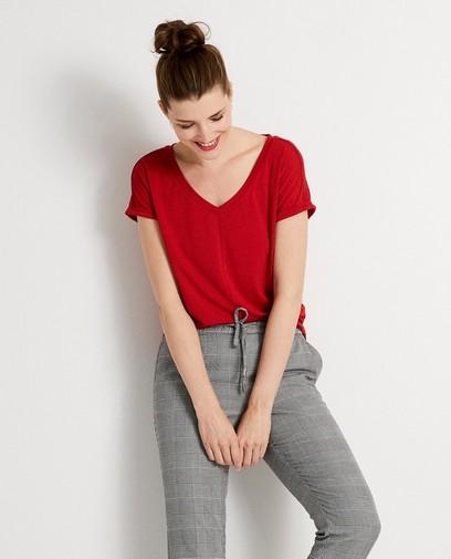 Rood T-shirt