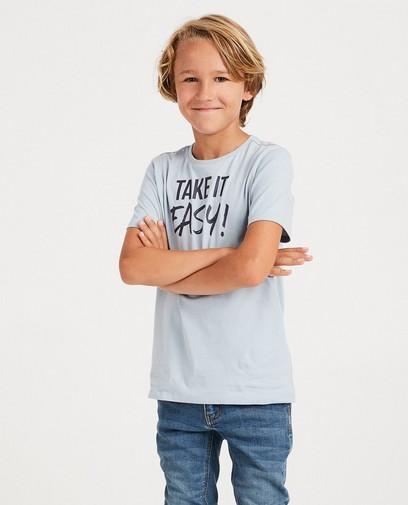 Blauw T-shirt BESTies
