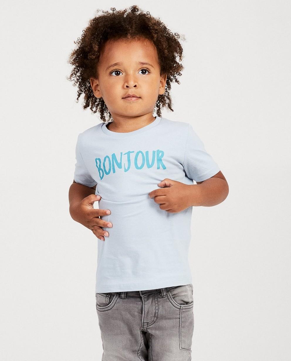 T-shirts - light turquise - T-shirt bleu, imprimé BESTies