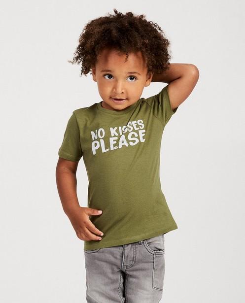 T-shirts - T-shirt vert, imprimé BESTies