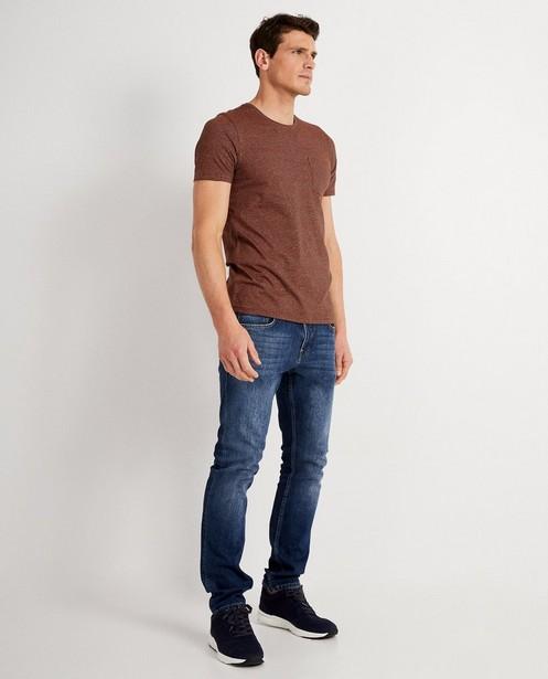 T-shirt rayé - brun et noir - JBC