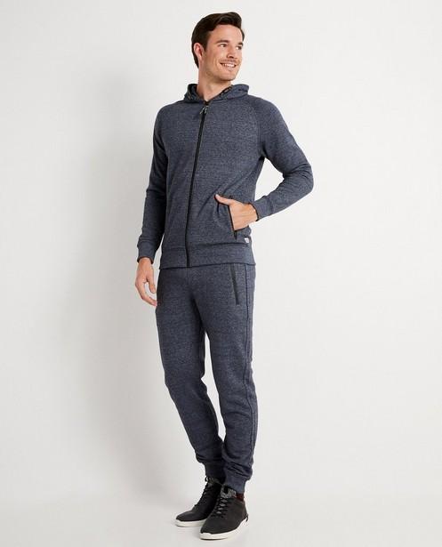 Pantalon bleu foncé chiné - en 2 couleurs - JBC