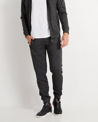 Pantalon gris foncé chiné
