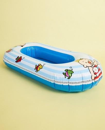 Blauwe opblaasboot Bumba