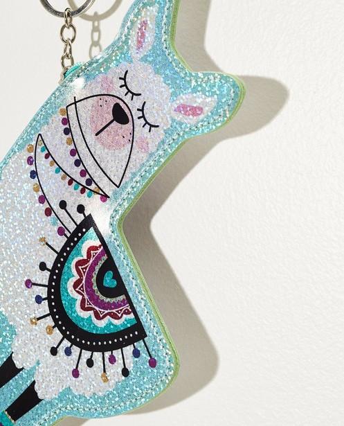 Gadgets - white - Porte-clés lama avec petit sac