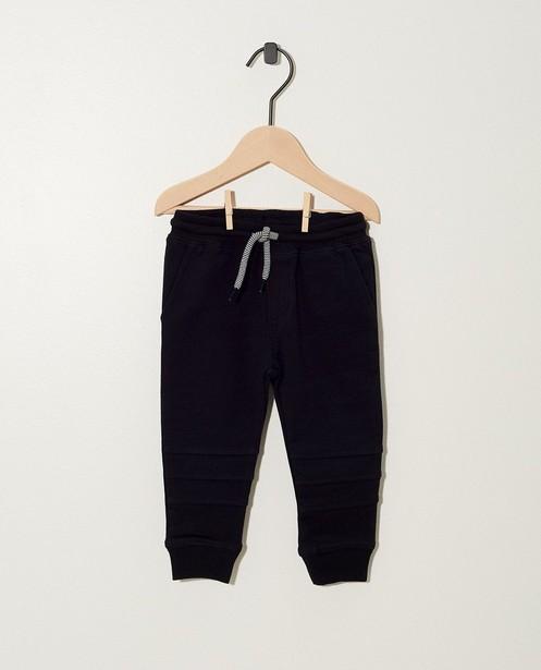 Pantalon vert en coton bio - molletonné - JBC