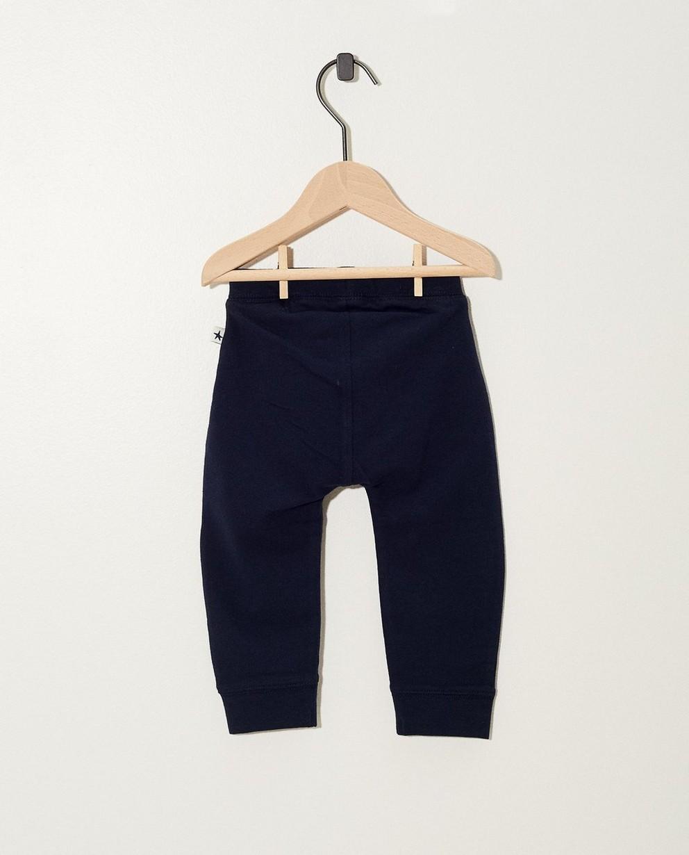 Pantalons - AO1 - Zwarte jogging van biokatoen