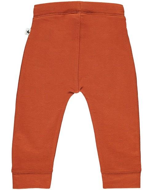 Pantalons - Zwarte jogging van biokatoen