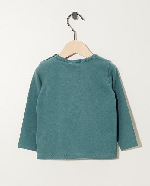 T-shirts - T-shirt vert à manches longues, coton bio