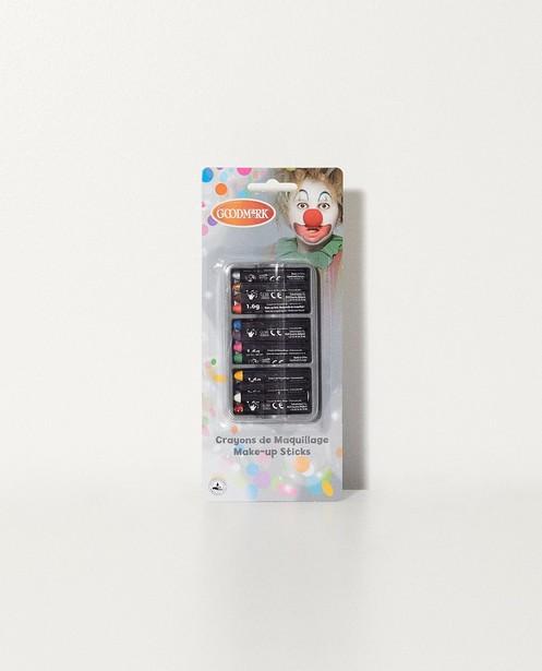 Schminkstifte Fasching - 12 verschiedene Farben - JBC