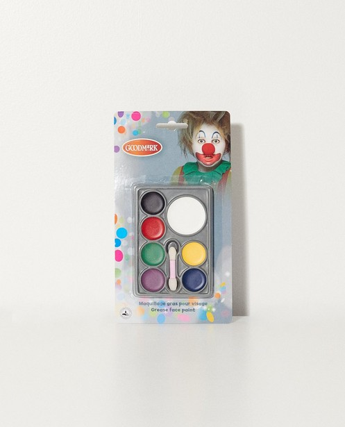Schminke für das Gesicht - 7 verschiedene Farben - JBC