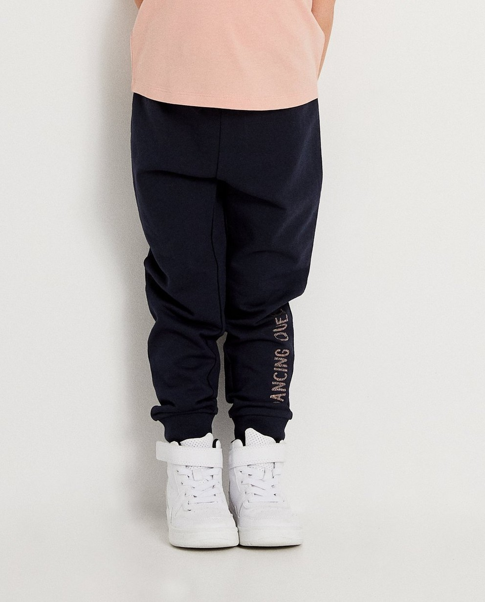 Pantalons - navy - Jogging bleu marine BESTies
