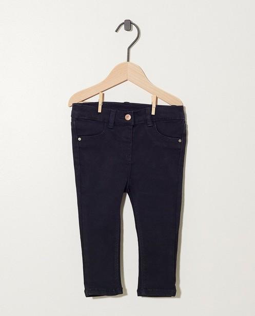 Pantalon bleu foncé - avec du stretch - JBC