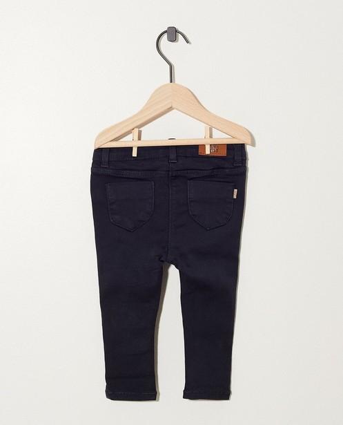 Pantalons - Pantalon bleu foncé