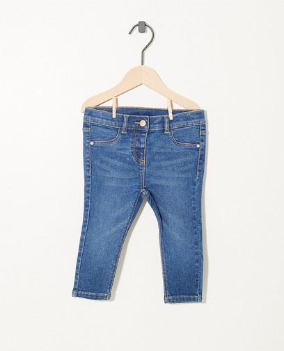 Blaue Jeans mit Stretch
