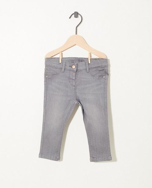 Grijze jeans met stretch - fundamentals - JBC