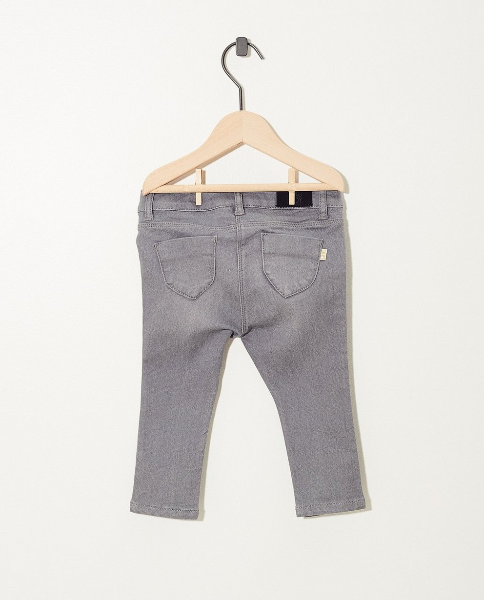 Jeans - dark grey -
