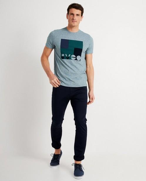 T-shirt bleu à imprimé - Iveo - Iveo