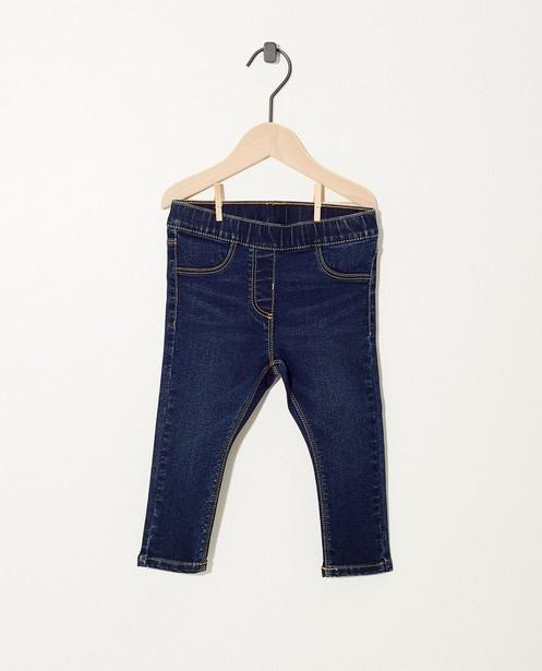 Pantalon bleu foncé - délavé - JBC