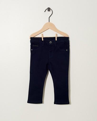 Zwarte broek met stretch