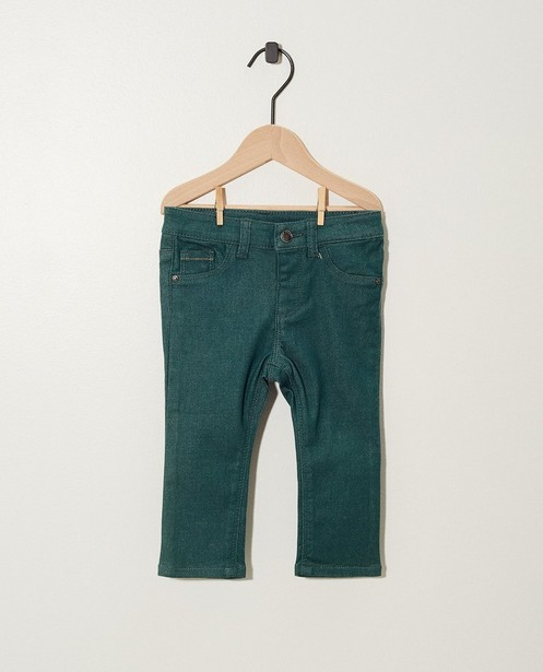 Pantalons - Zwarte broek met stretch
