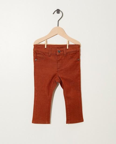 Marineblauwe broek met stretch - verschillende kleuren - JBC