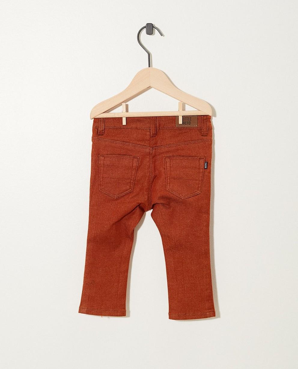 Pantalons - navy - Zwarte broek met stretch