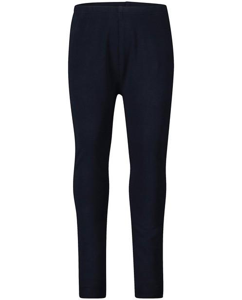 Donkerblauwe legging van biokatoen - In donkerblauw - JBC