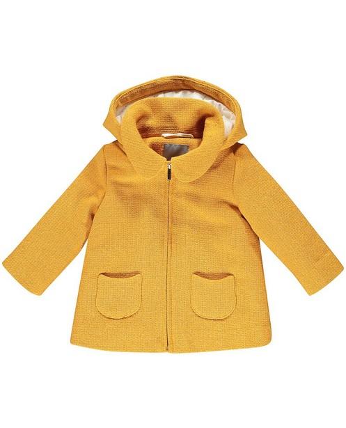 Veste d'hiver jaune, fil métallisé - doré - JBC