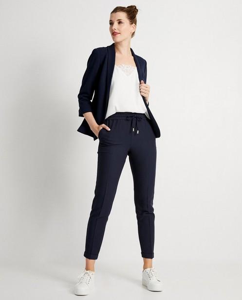 Pantalon bleu - habillé - JBC