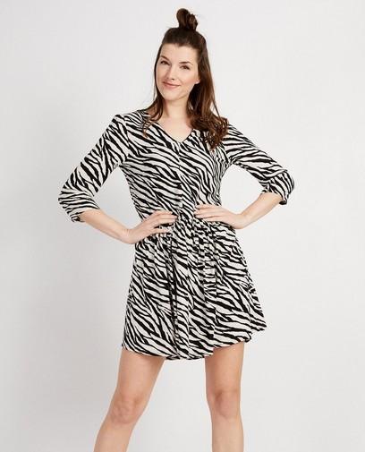 Kleedje met allover zebraprint