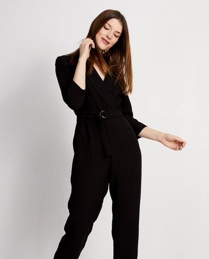 Zwart jumpsuit