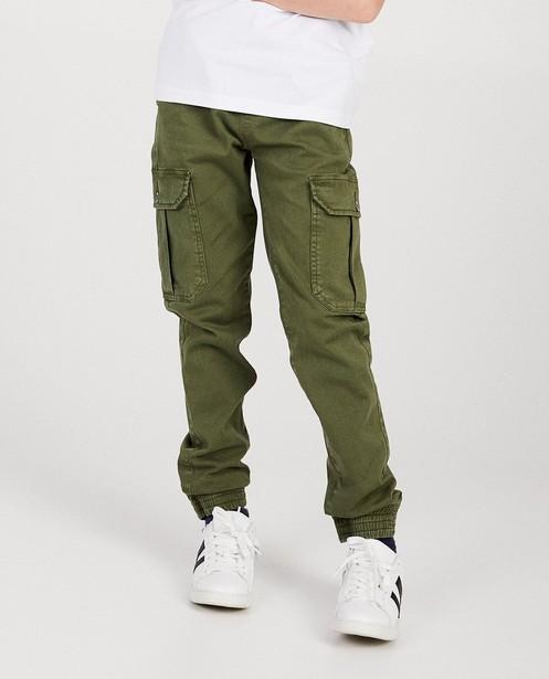 Pantalons - Pantalon cargo kaki