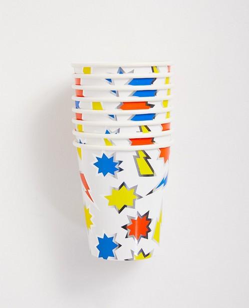 Gobelets imprimés - anniversaire, en papier - JBC