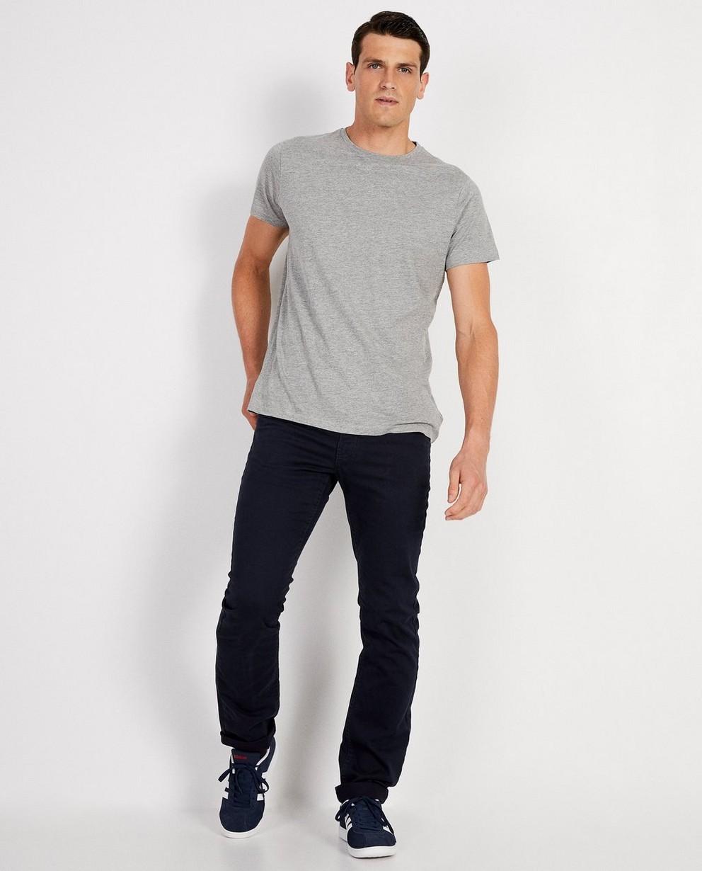 Marineblauwe rechte broek - Best price - JBC NL