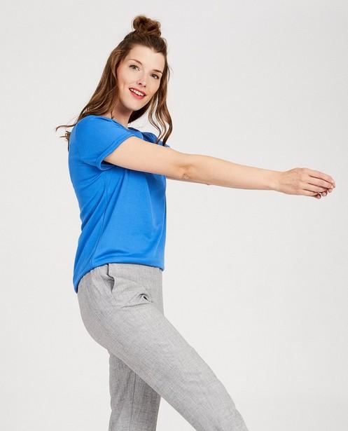T-shirts - BLM - Blauw T-shirt Sora