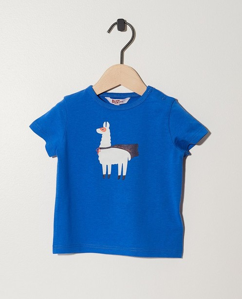T-shirt bleu foncé BESTies - imprimé de cactus - Besties