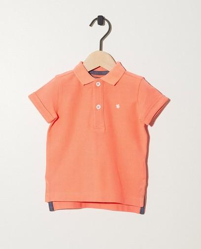 Neonrotes Poloshirt