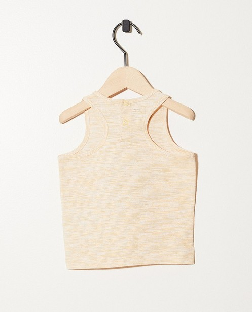 T-shirts - honey - Débardeur jaune imprimé