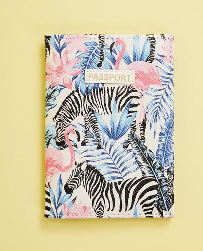 Passpoort cover met print