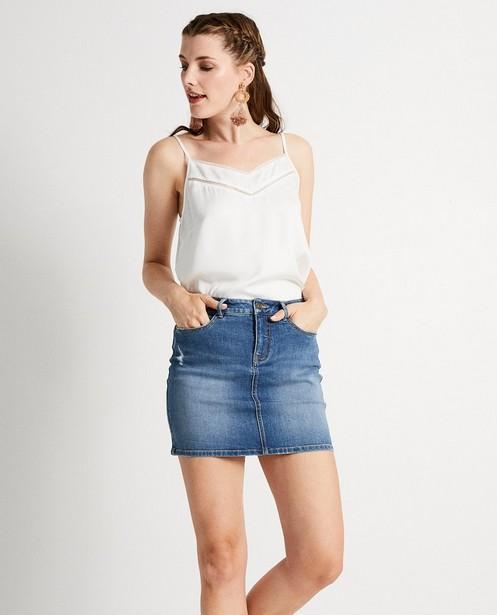 Chemises - Top blanc avec de la dentelle Sora