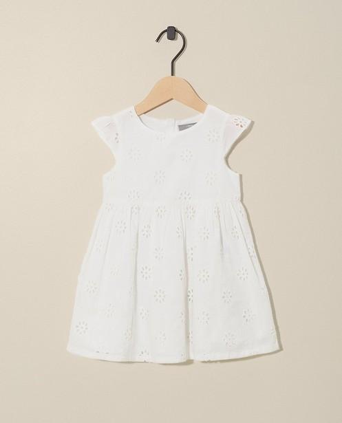Witte jurk + pamperbroekje Feest - met pamperbroekje - JBC